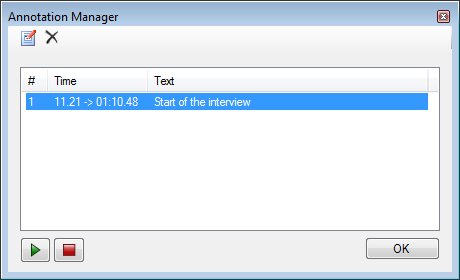 Annotation Manager
