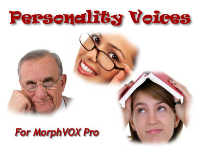 Screenshot of Personality Voices - MorphVOX Add-on 1.0
