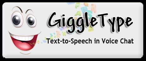 Use text-to-speech on any voice chat program or game. Talk to friends and family on Skype, or other voice programs.