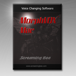 Screenshot of MorphVOX Mac Back-up CD