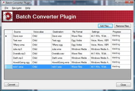 Batch Converter Plug-in