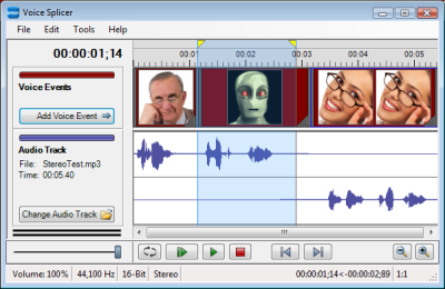 Voice Splicer Plug-in