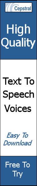 High-Quality Text-to-speech voices. Easy to download and free to try