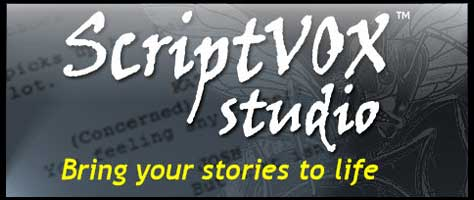 Story writer creativity tool. Text to speech combined with voice modification