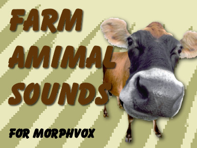 Broadcast Barnyard sound effects - Add-on for MorphVOX Voice Changer