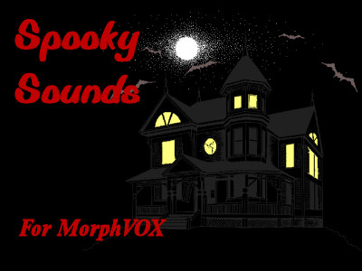 Spooky Sounds - MorphVOX Add-on Screen shot