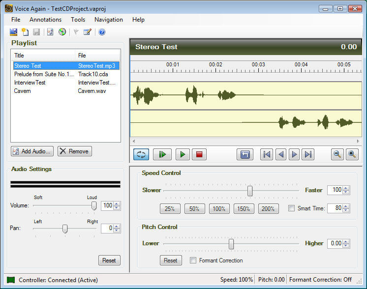 change voice software