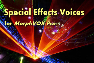 MorphVOX Voice Packs - Voice Changing Software
