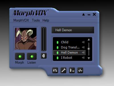 New MorphVOX Skin Available