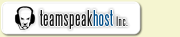 With TeamSpeakHost Inc. you get full control over your Teamspeak server which includes admin rights, without any codec or bandwidth limits. Our exclusive Teamspeak Control Panel provides you with maximum control over your server.